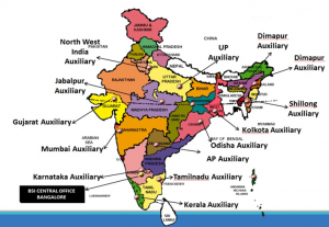 map of all auxiliary